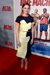 Gillian Jacobs – 'Hot Tub Time Machine 2′ Premiere in Westwood