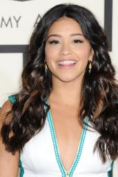 Gina Rodriguez - 2015 Grammy Awards in Los Angeles