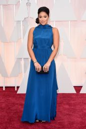 Gina Rodriguez – 2015 Oscars Red Carpet in Hollywood