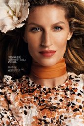 Gisele Bundchen - Vogue Magazine (China) March 2015 Issue