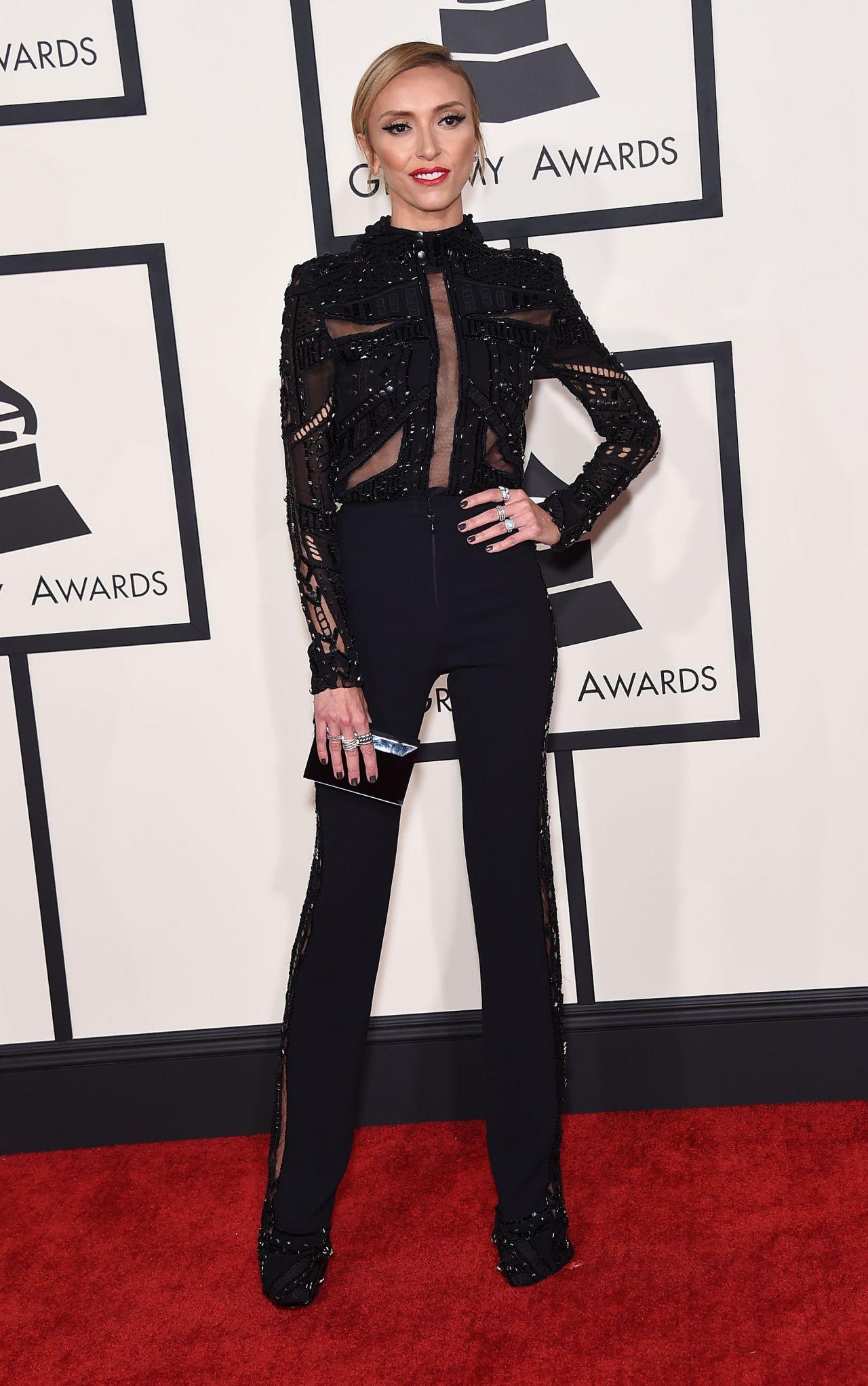 Giuliana Rancic – 2015 Grammy Awards in Los Angeles