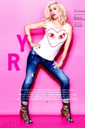 Gwen Stefani – Cosmopolitan Magazine March 2015 Issue