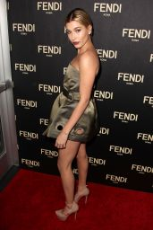 Hailey Baldwin – Fendi New York Flagship Boutique Inauguration Party, February 2015