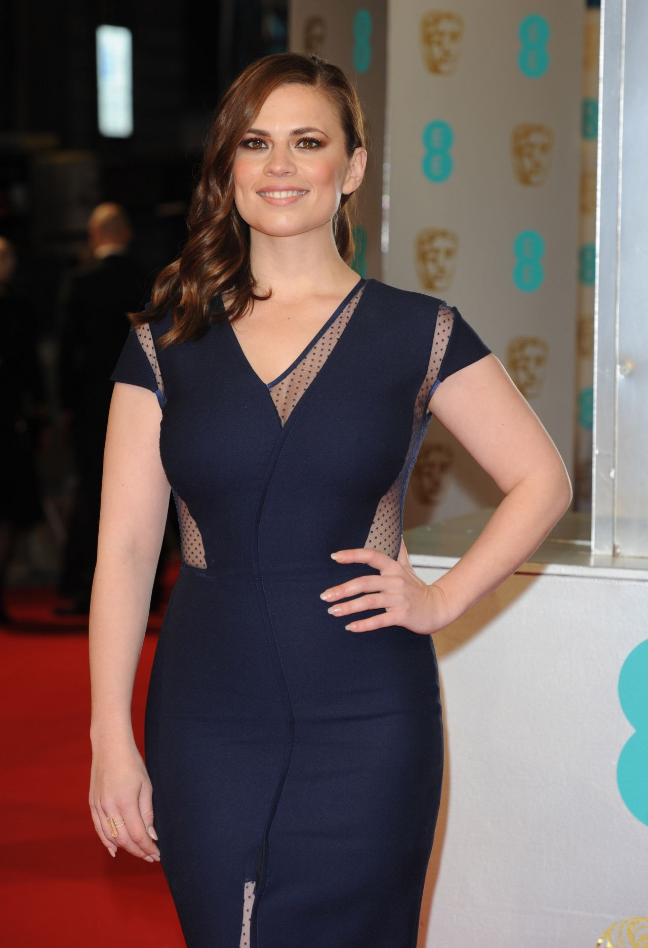 Hayley Atwell – EE British Academy Film Awards 2015 in London