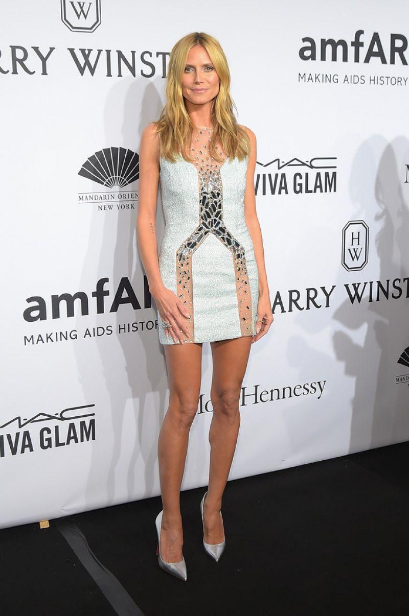 Heidi Klum - 2015 amfAR New York Gala