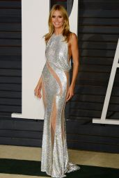 Heidi Klum - 2015 Vanity Fair Oscar Party in Hollywood