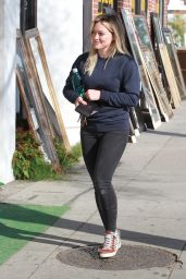 Hilary Duff Booty in Jeans - Out in LA, Feb. 2015