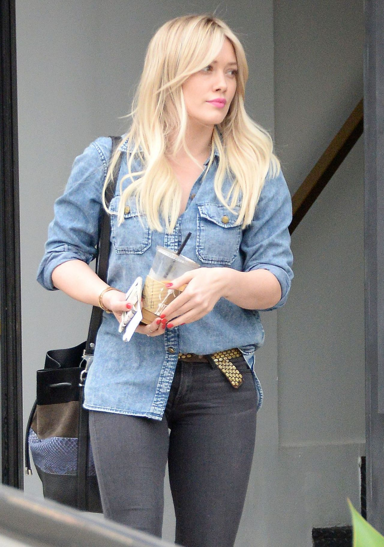 Hilary Duff Casual Style West Hollywood January 2015
