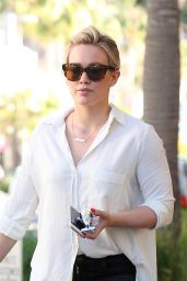 Hilary Duff - Out in Los Angeles, February 2015