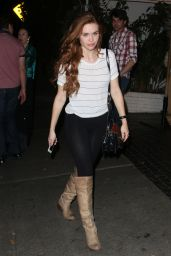 Holland Roden Booty in Tights - Chateau Marmont in West Hollywood, February 2015
