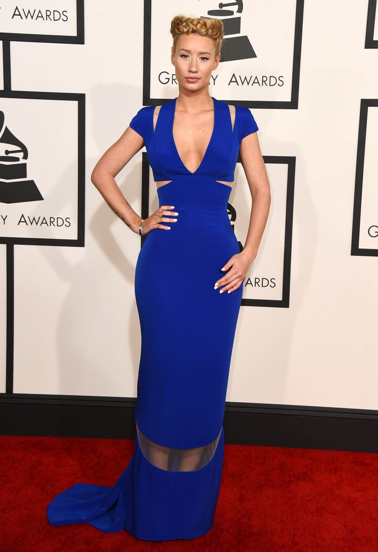 Iggy Azalea – 2015 Grammy Awards in Los Angeles