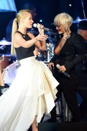 Iggy Azalea Performs at Pre-GRAMMY 2015 Gala and Salute To Industry Icons in Beverly Hills