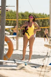 Imogen Thomas in Swimwear - Abu Dhabi, January 2015