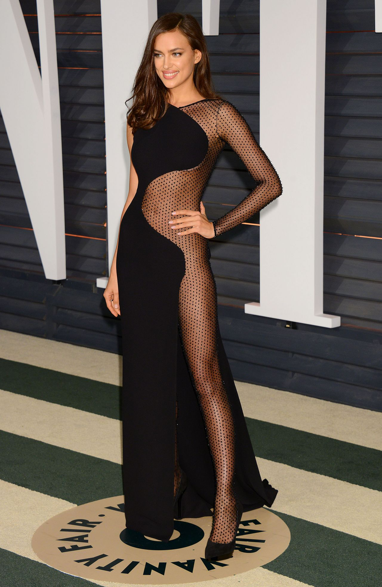 Irina Shayk - 2015 Vanity Fair Oscar Party in Hollywood