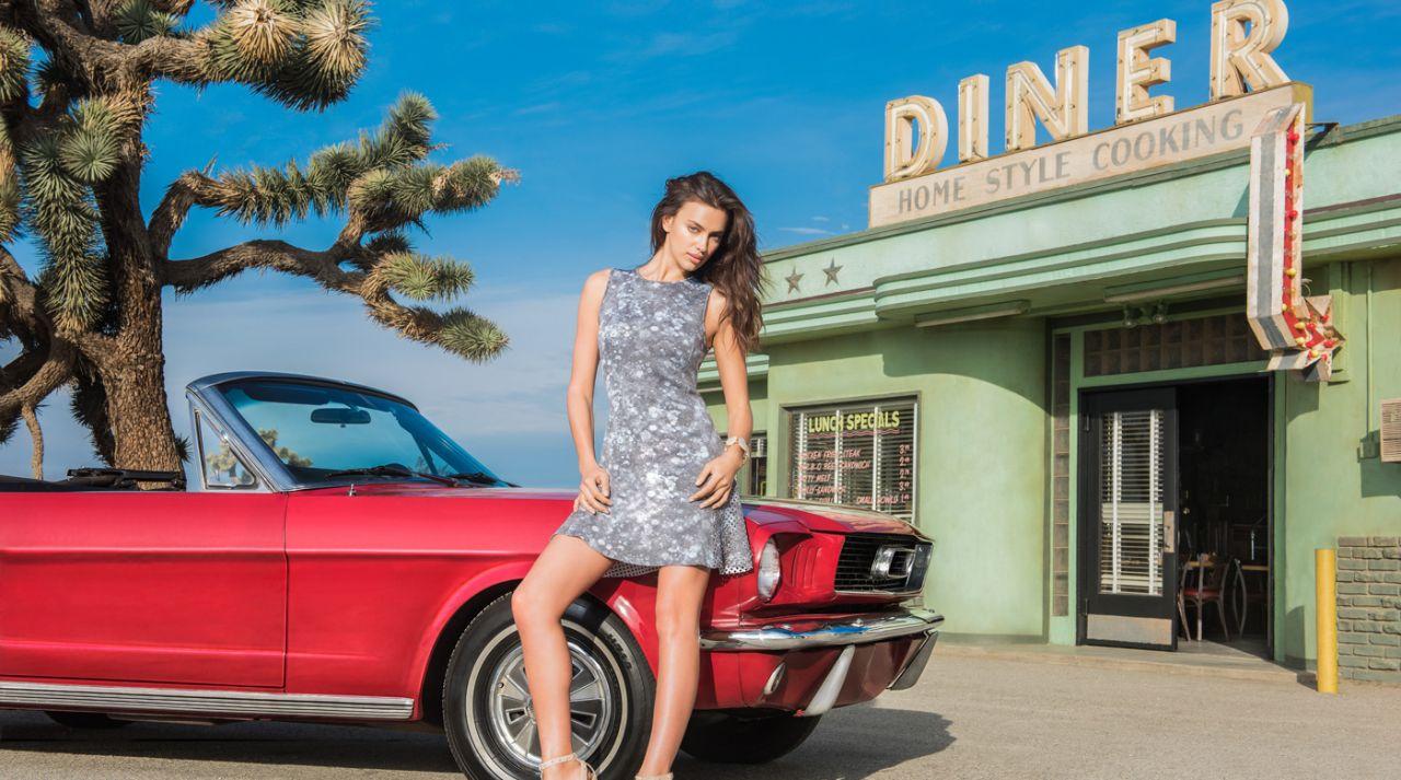 Irina Shayk - Liverpool Mexico Fashion Fest Spring/Summer 2015