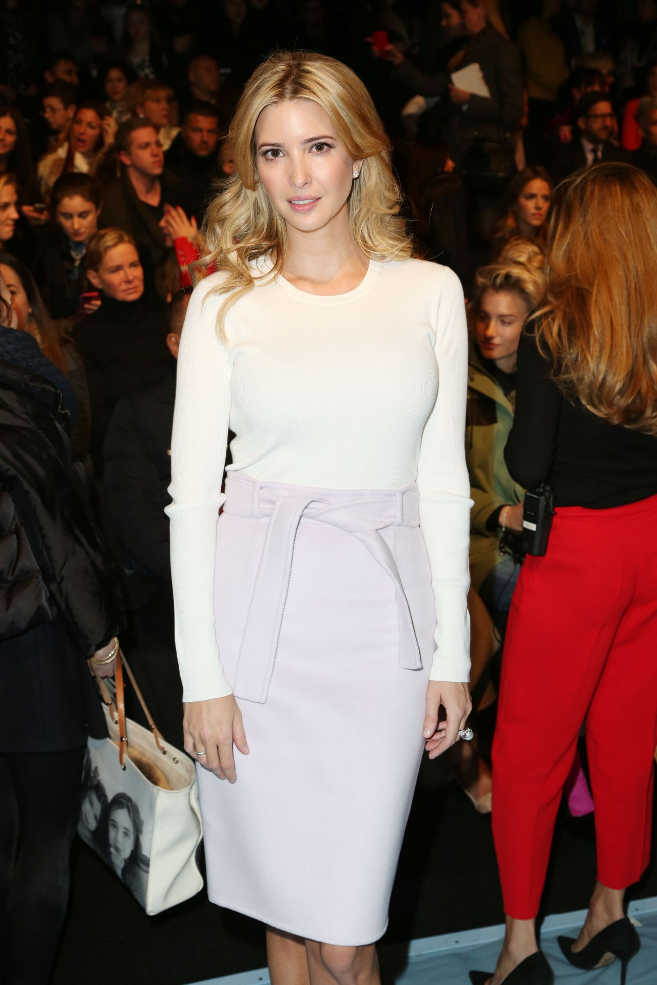 Ivanka Trump - Carolina Herrera Fall 2015 Show in New York City