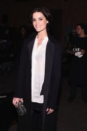 Jaimie Alexander - Greg Lauren Fashion Show in New York, February 2015