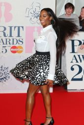Jamelia - 2015 BRIT Awards in London