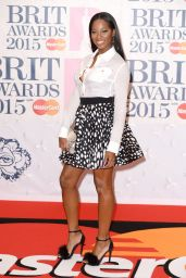 Jamelia - 2015 BRIT Awards in London