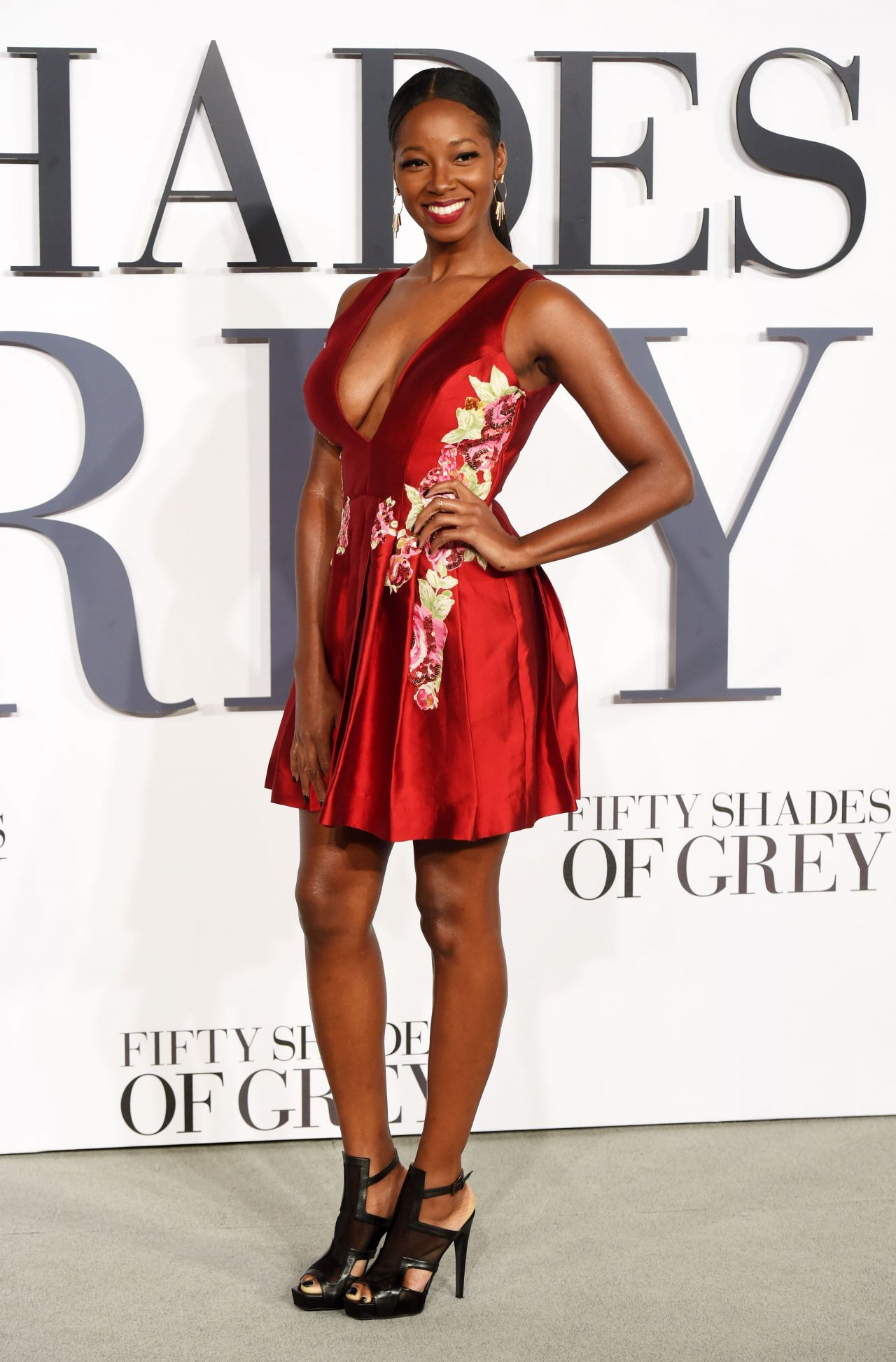 Jamelia Fifty Shades Of Grey Premiere In London