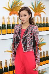 Jamie Chung - Veuve Clicquot Carnaval Miami in Miami Beach, February 2015