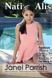 Janel Parrish - Nationalist Magazine February 2015 Issue