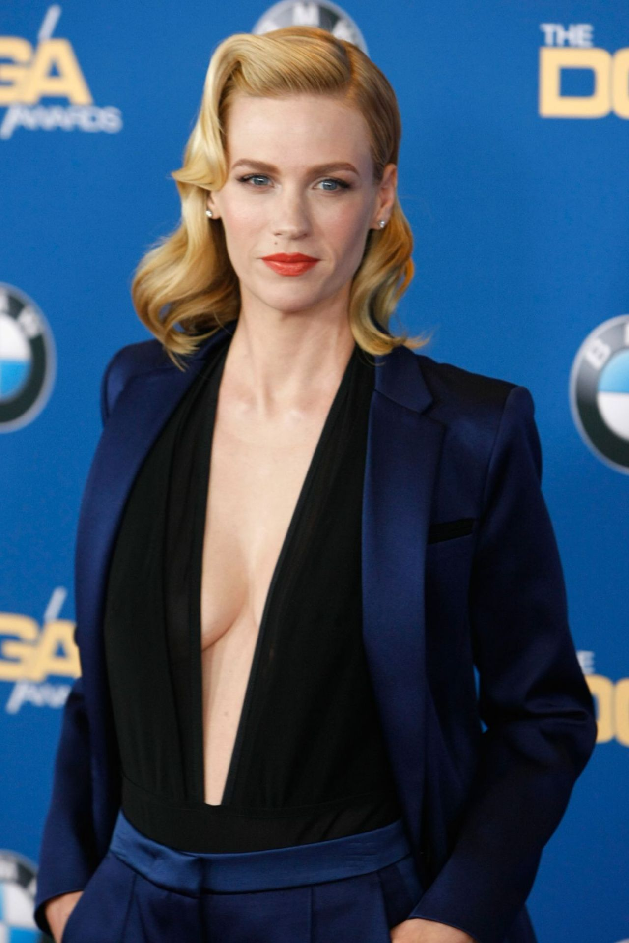 January Jones - 2015 Directors Guild of America Awards in Century City