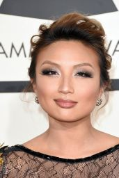 Jeannie Mai – 2015 Grammy Awards in Los Angeles