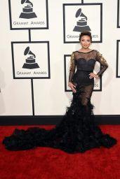 Jeannie Mai – 2015 Grammy Awards in Los Angeles