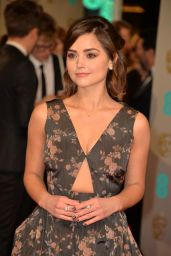 Jenna-Louise Coleman – EE British Academy Film Awards 2015 in London (Part 2)
