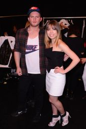 Jennette McCurdy at August Getty Fashion Show in New York, Feb. 2015