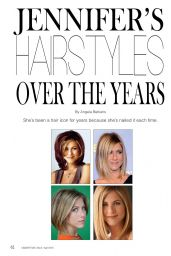 Jennifer Aniston - Celeb Styles Magazine March/April 2015 Issue