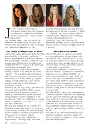 Jennifer Aniston - Celeb Styles Magazine March/April 2015 Issue