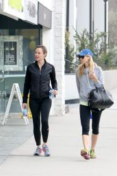 Jennifer Garner - After a Workout With a Friend in Los Angeles, February 2015