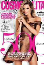 Jennifer Hawkins - Cosmopolitan Magazine (Australia) - March 2015 Issue