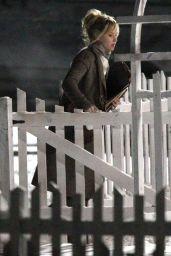 Jennifer Lawrence - On the set of