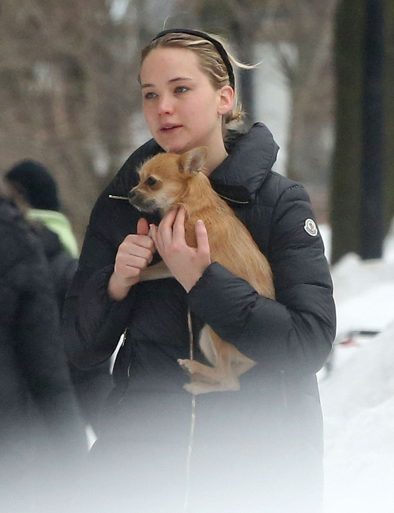 Jennifer Lawrence - Out in Boston, February 2015