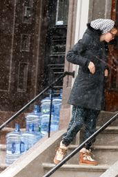 Jennifer Lawrence Winter Style - Out in Boston, Feb. 2015