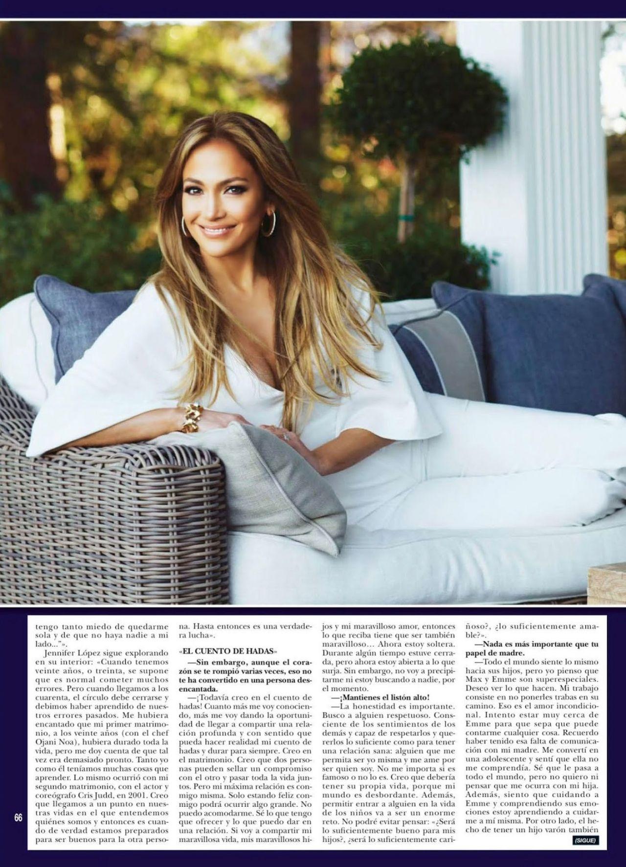 Jennifer Lopez Hola Magazine Spain February 2015 Issue