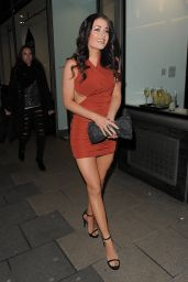 Jess Impiazzi - PETA and Mahiki Fur Amnesty Night in London, February 2015