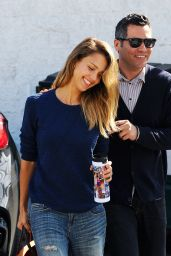 Jessica Alba & Cash Warren - Out in Beverly Hills, February 2015