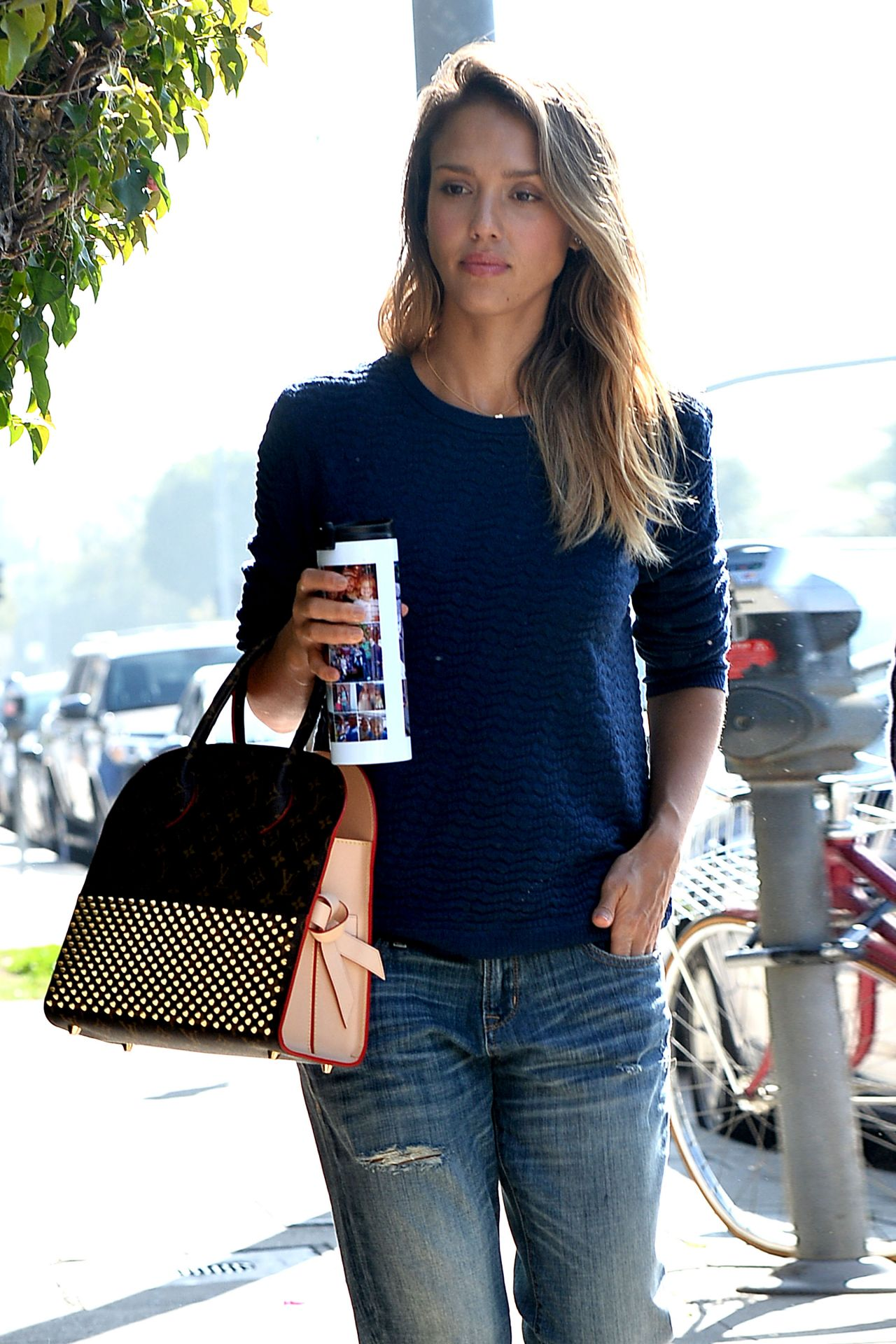 Jessica Alba Amp Cash Warren Out In Beverly Hills
