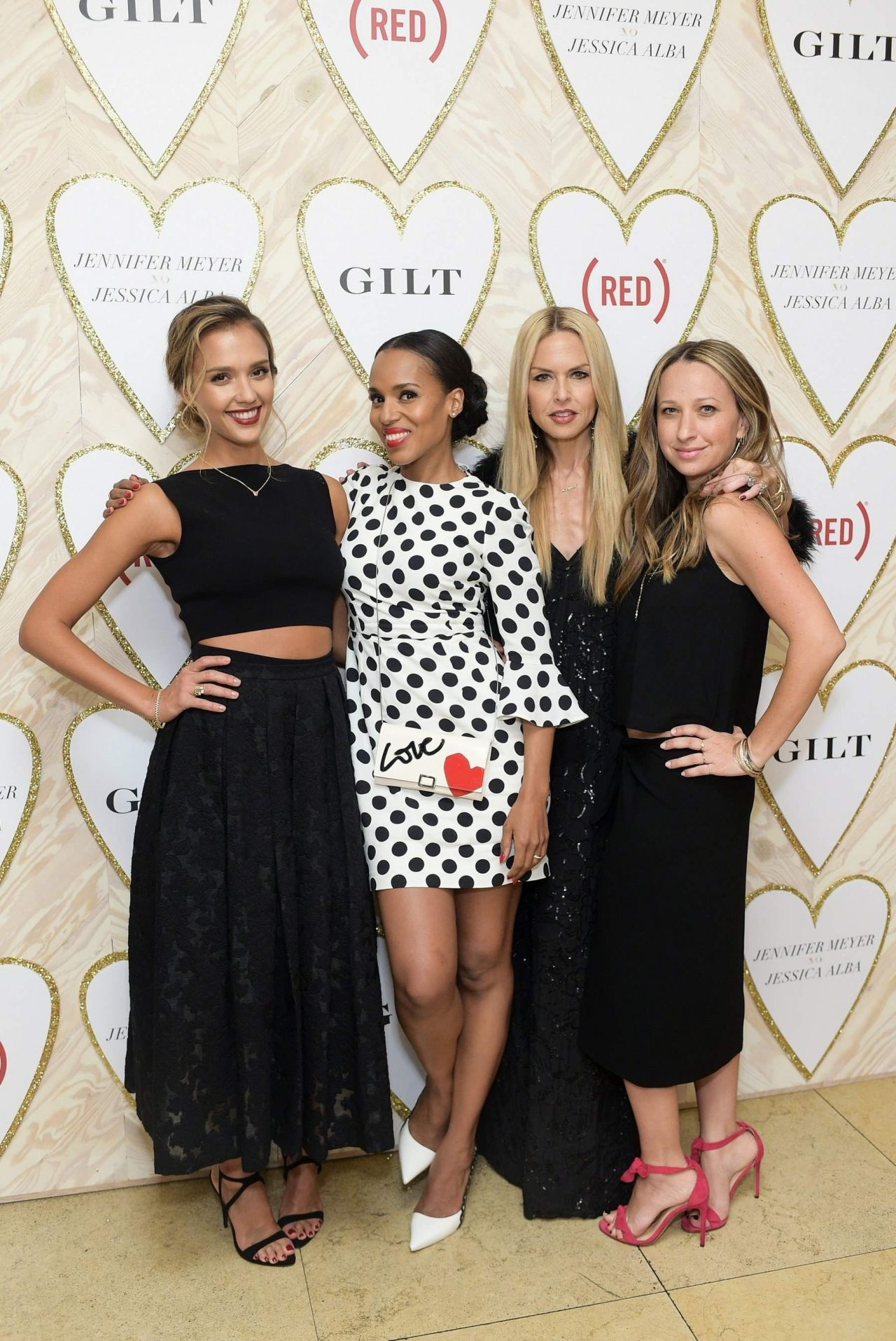 Jessica Alba Celebrate The Launch Of Jennifer Meyer xo Jessica Alba, February 2015