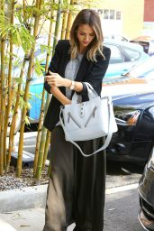 Jessica Alba - Going to Her Company in Santa Monica, Feb. 2015