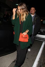 Jessica Alba Night Out Style - West Hollywood, February 2015