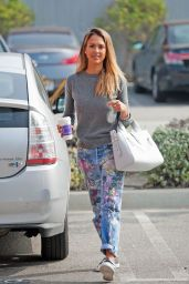 Jessica Alba - Out in Los Angeles, Feb. 2015