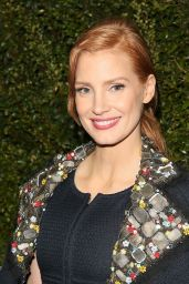Jessica Chastain - 2015 Chanel And Charles Finch Pre-Oscar Dinner in Los Angeles