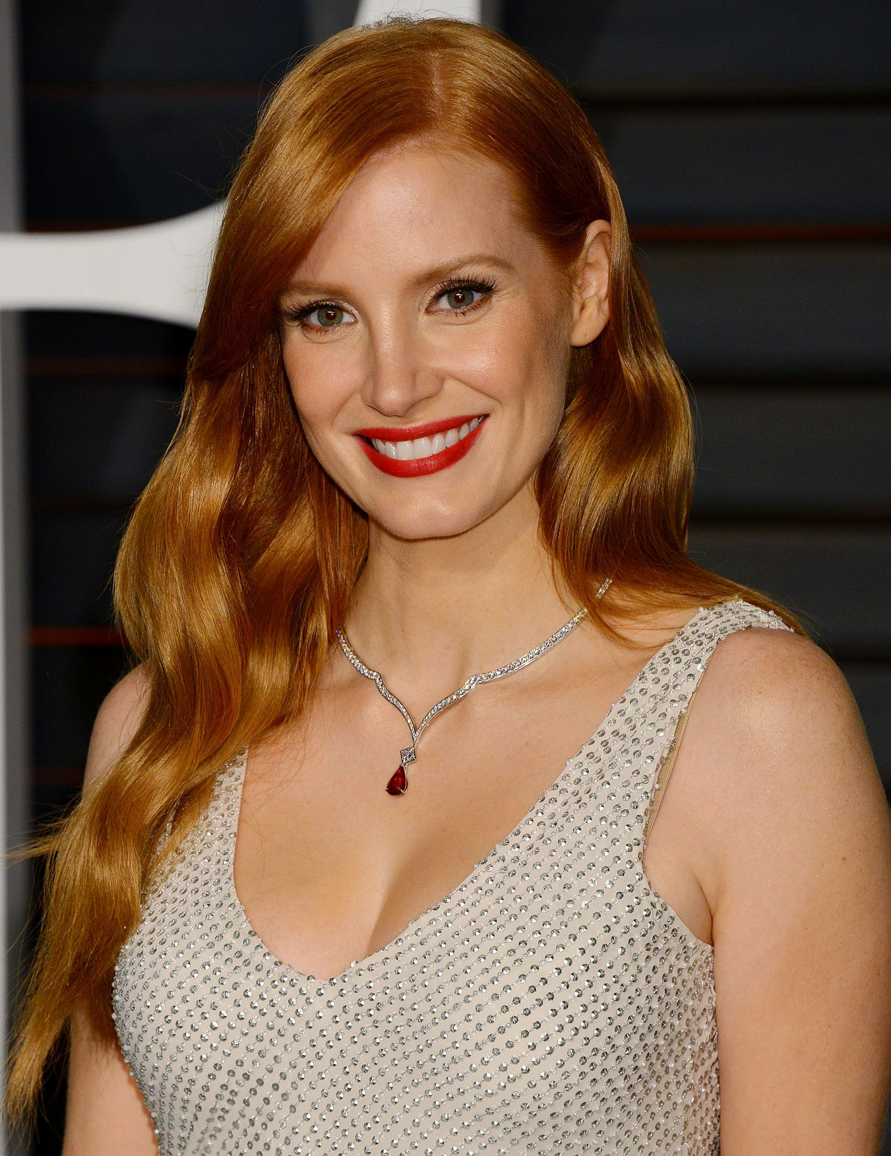 Jessica Chastain - 2015 Vanity Fair Oscar Party In Hollywood-8327