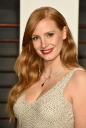 Jessica Chastain - 2015 Vanity Fair Oscar Party in Hollywood