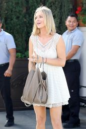 Joanna Krupa Style - Out for Lunch in Beverly Hills, February 2015